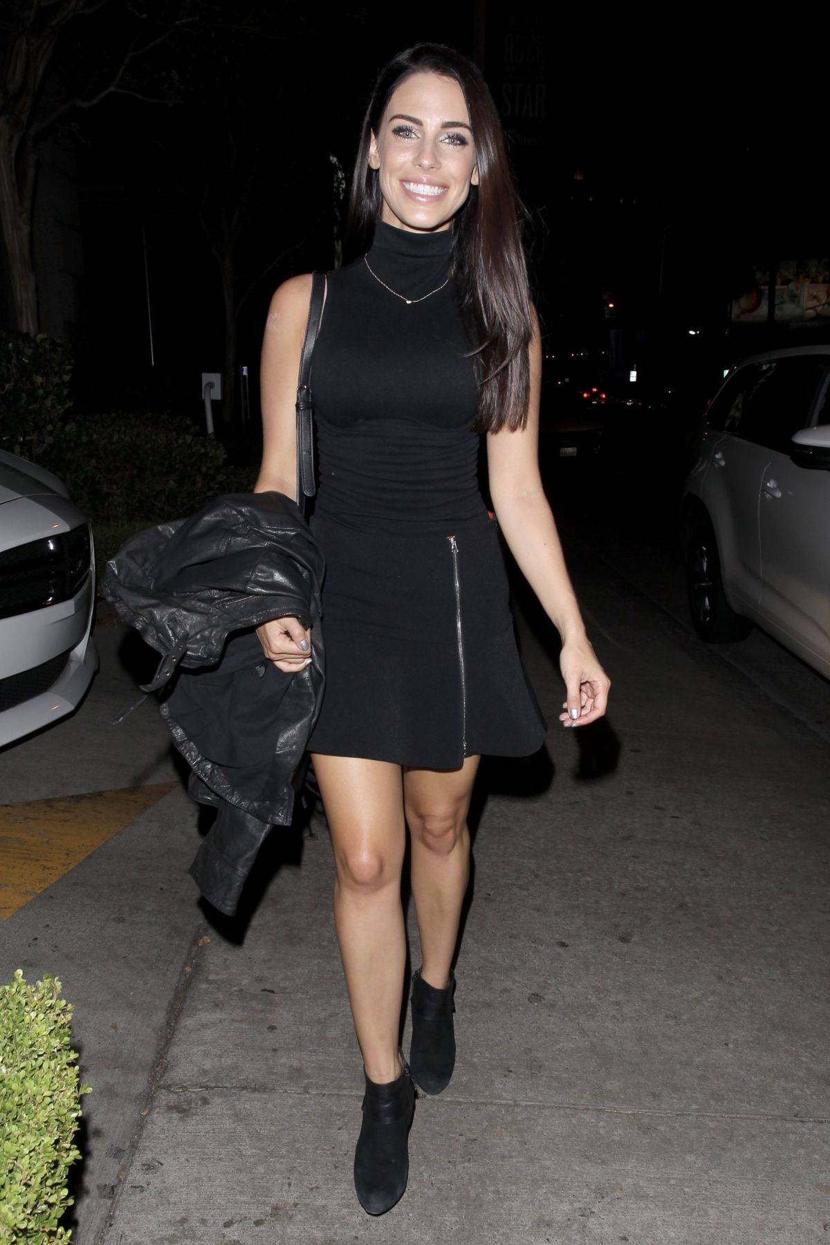 JESSICA LOWNDES Celebrates Her 28th Birthday at Katana Robata Sushi Bar in West Hollywood 11/08/2016