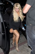JESSICA SIMPSON at Serfina Restaurant in West Hollywood 11/04/2016