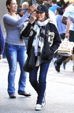 JOAN COLLINS Shoping at The Grove in Los Angeles 11/23/2016