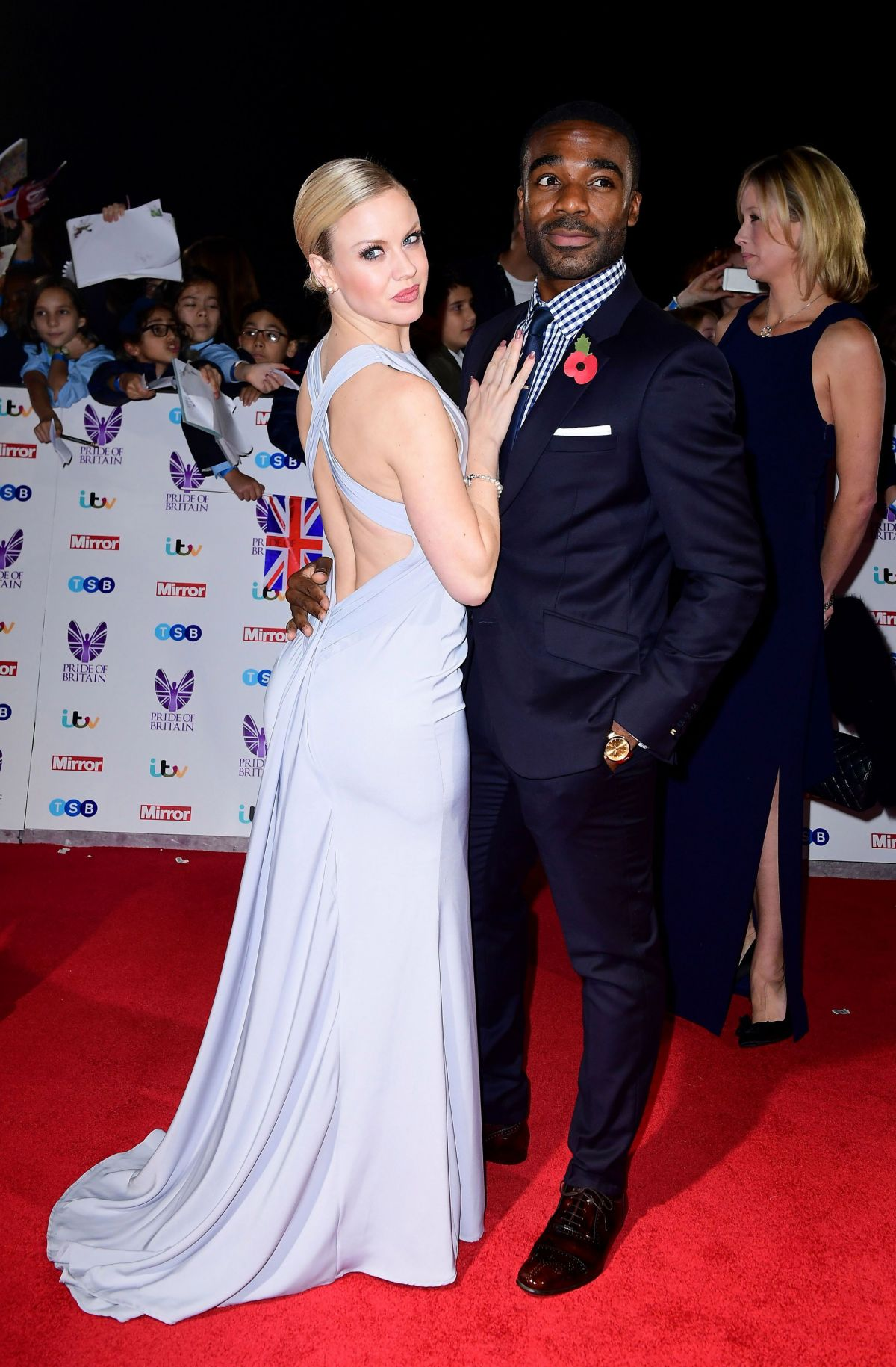 JOANNE CLIFTON at Pride of Britain Awards 2016 in London 10/31/2016