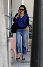 JORDANA BREWSTER Out and About in Los Angeles 11/04/2016