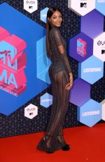 JOURDAN DUNN at MTV Europe Music Awards 2016 in Rotterdam 11/06/2016