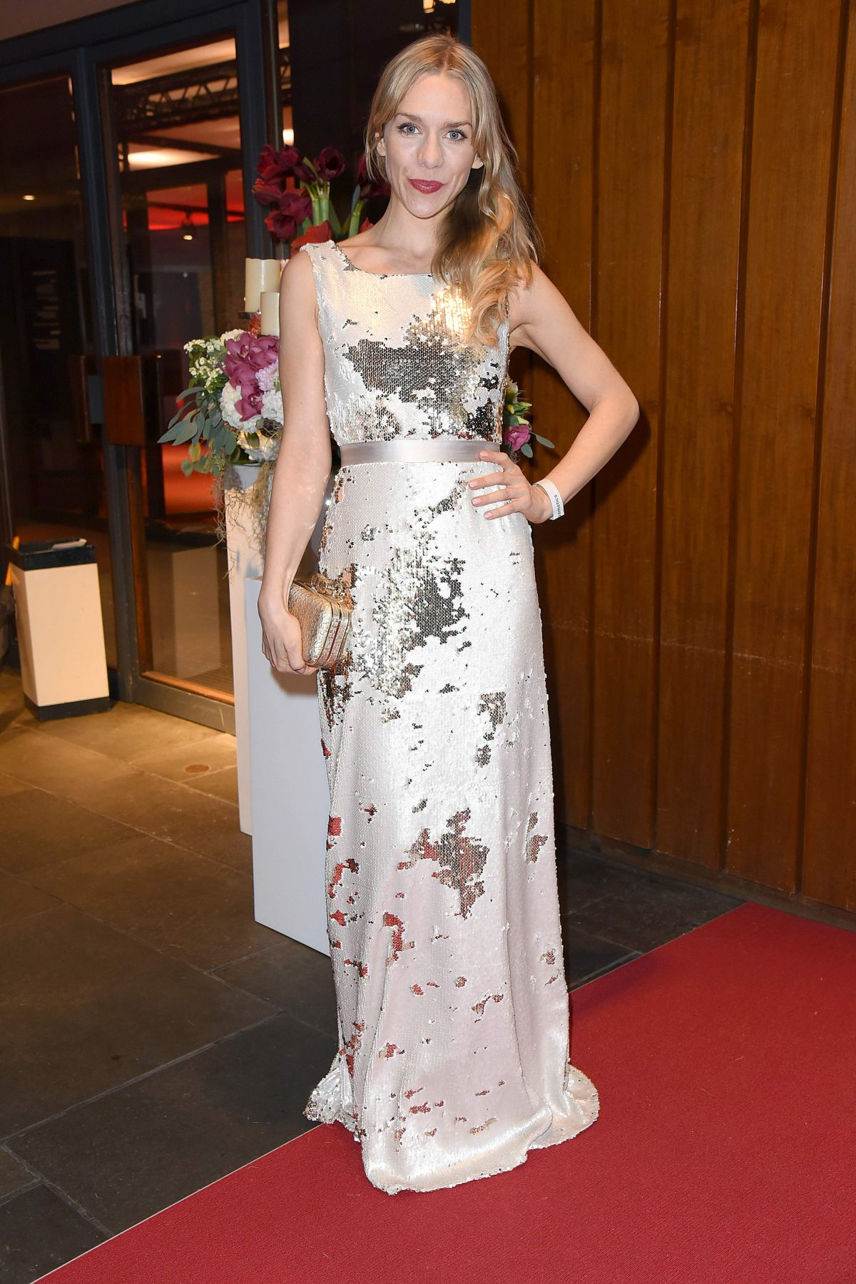 JULIA DIETZE at 23rd Opera Gala Event in Berlin 11/05/2016