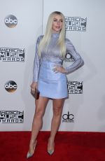 JULIANNE HOUGH at 2016 American Music Awards at The Microsoft Theater in Los Angeles 11/20/2016