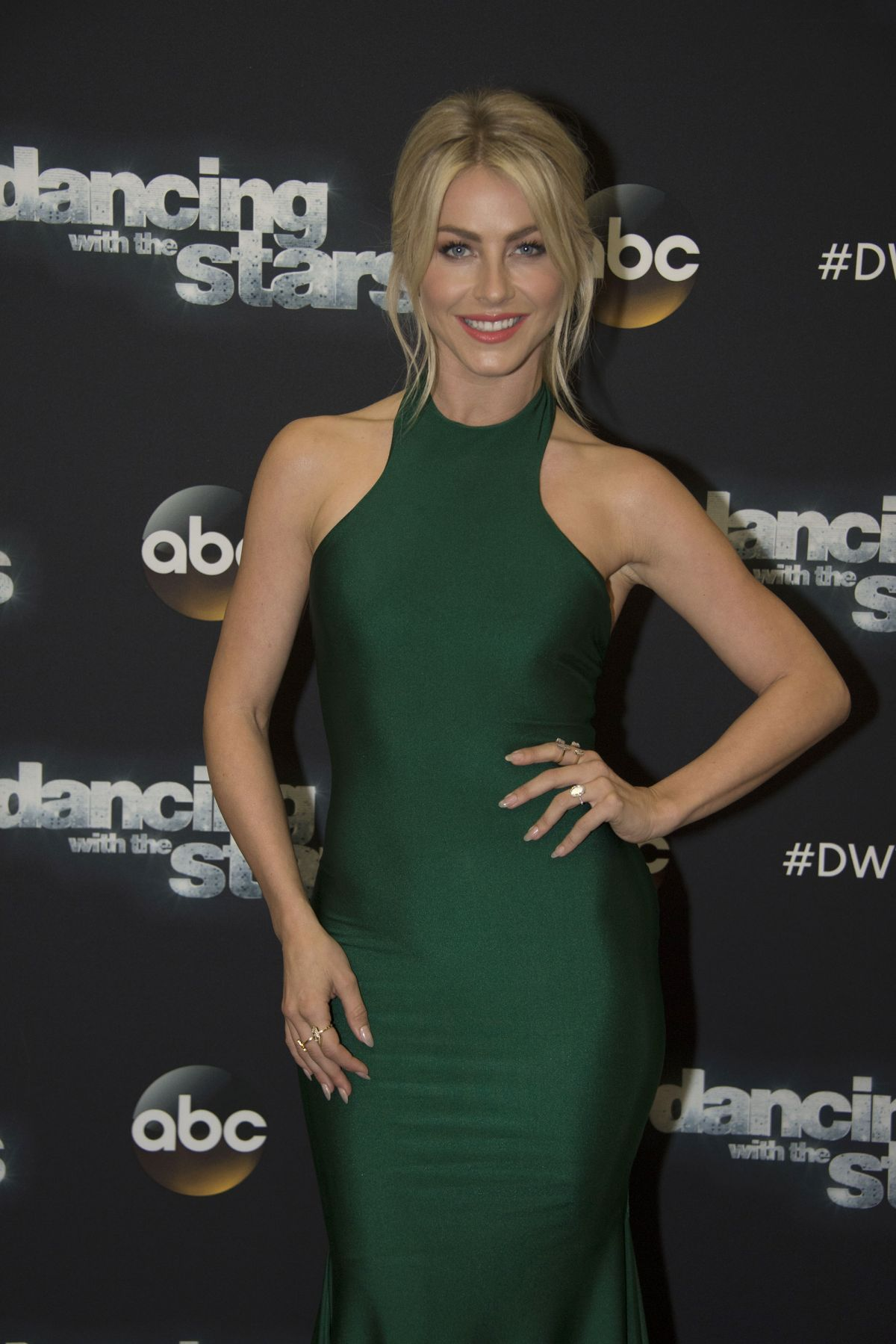 JULIANNE HOUGH at DWTS in Hollywood 11/07/2016