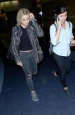 JULIANNE HOUGH at Los Angeles International Airport 11/13/2016