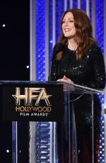JULIANNE MOORE at 20th Annual Hollywood Film Awards in Beverly Hills 11/06/2016
