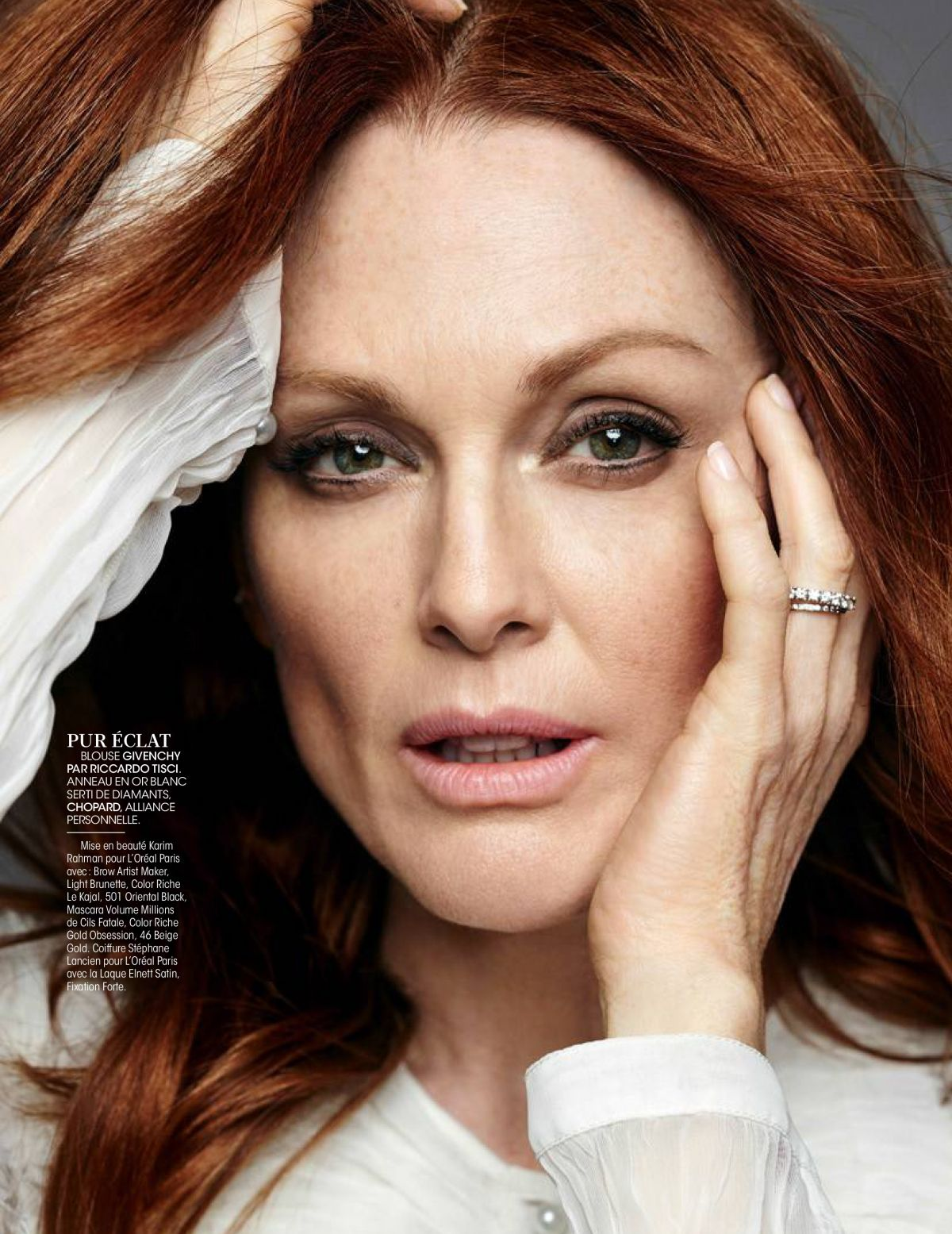 JULIANNE MOORE in Madame Figaro Magazine, France November 2016 Issue