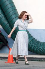 JULIANNE MOORE on the Set of