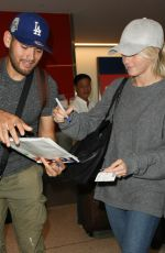 JULIEANNE HOUGH at LAX Airport in Los Angeles 11/09/2016