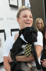 KALEY CUOCO at Hollywood Improve Stand Up for Pits in Los Angeles 11/05/2016