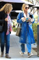 KALEY CUOCO Out for Lunch at Porto Villa Restaurant in Beverly Hills 11/16/2016