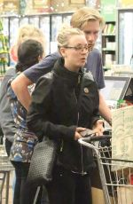 KALEY CUOCO Shopping at Whole Foods in Los Angeles 11/23/2016