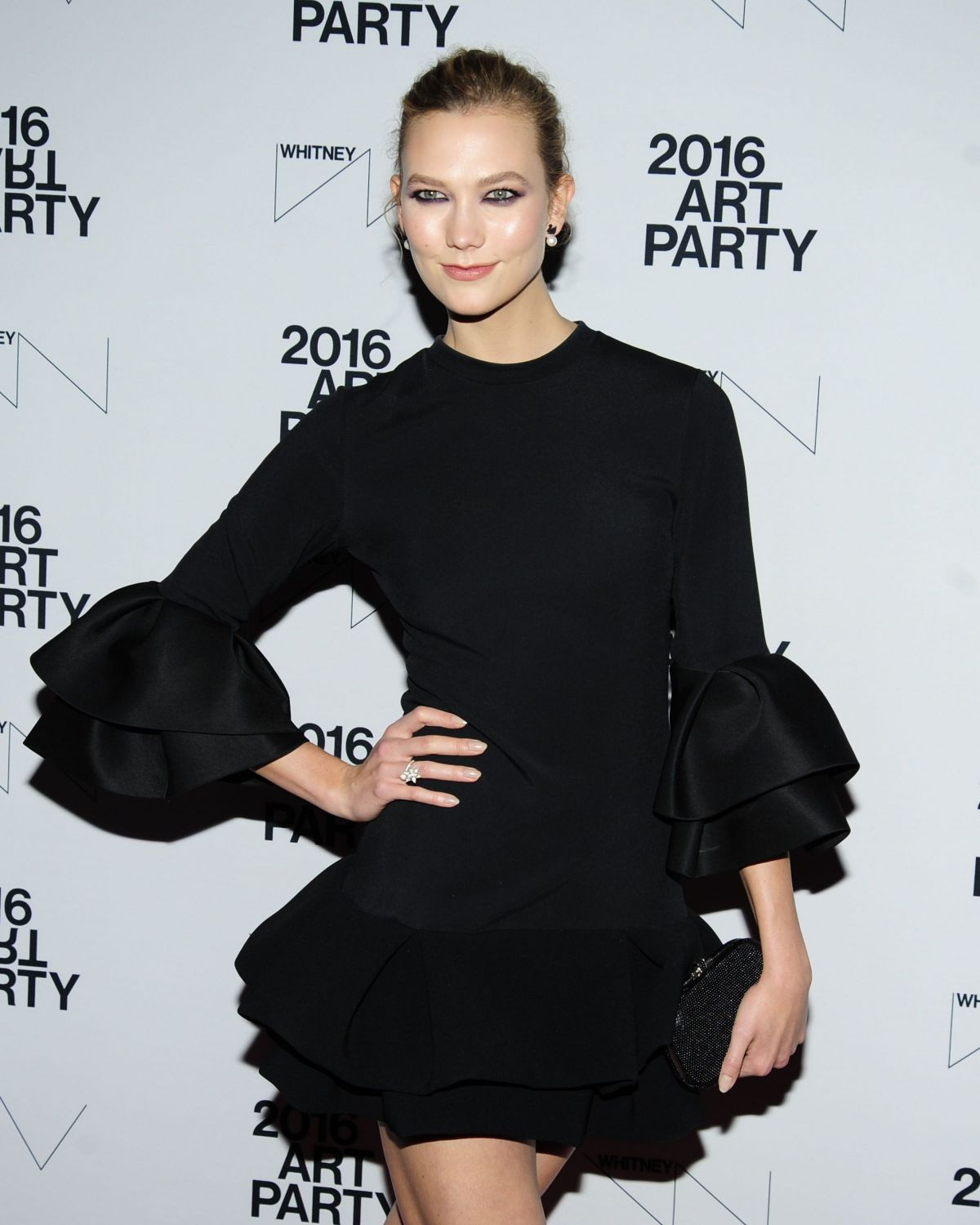 KARLIE KLOSS at Whitney Annual Art Party in New York 11/15/2016