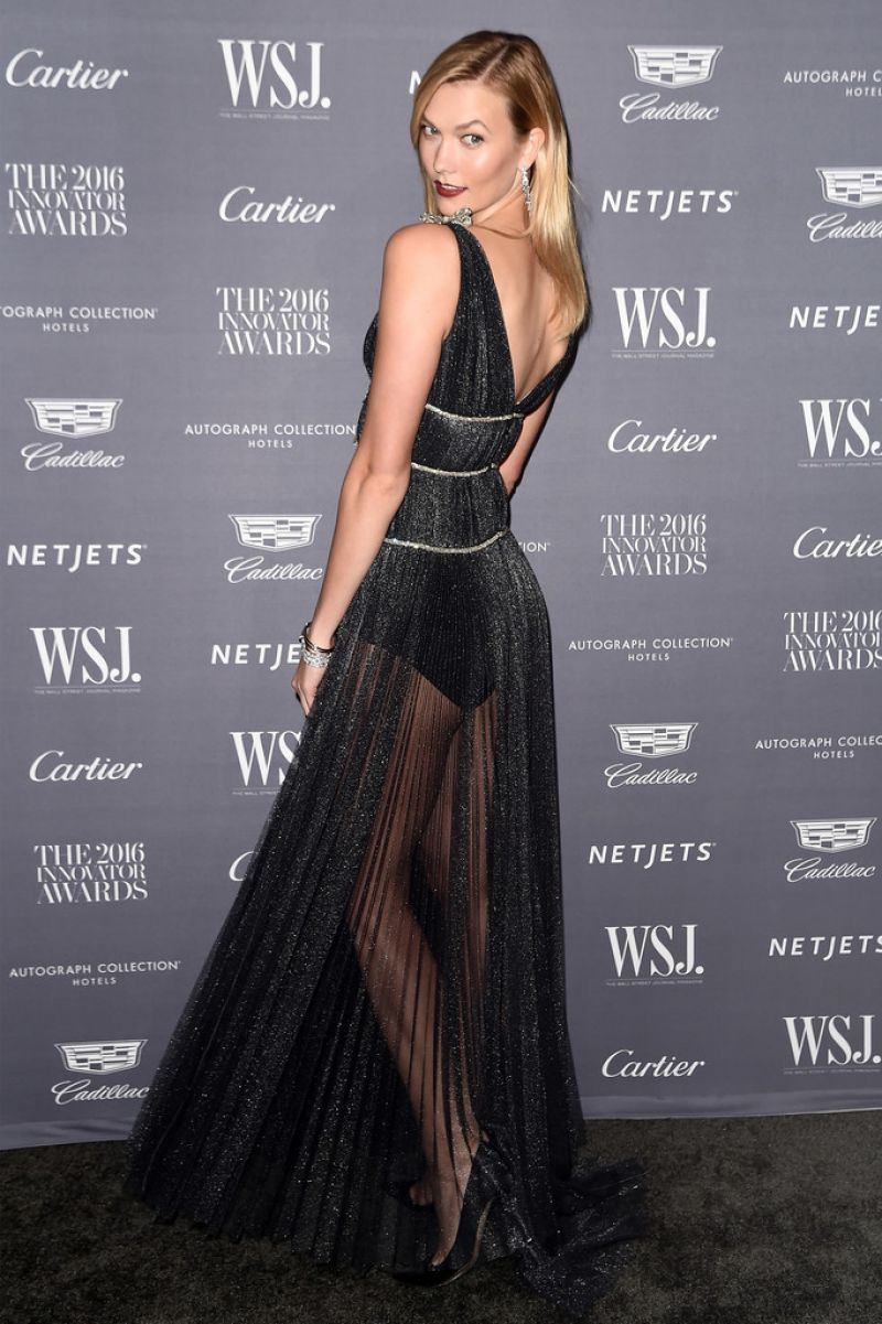 KARLIE KLOSS at WSJ Magazine 2016 Innovator Awards in New York 11/02/2016 [mq]