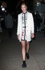 KARLIE KLOSS Night Out in New York 11/01/2016