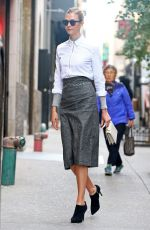 KARLIE KLOSS Out and About in Manhattan 11/2/2016
