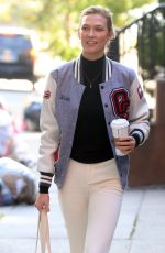 KARLIE KLOSS Out Shopping in New York 11/08/2016