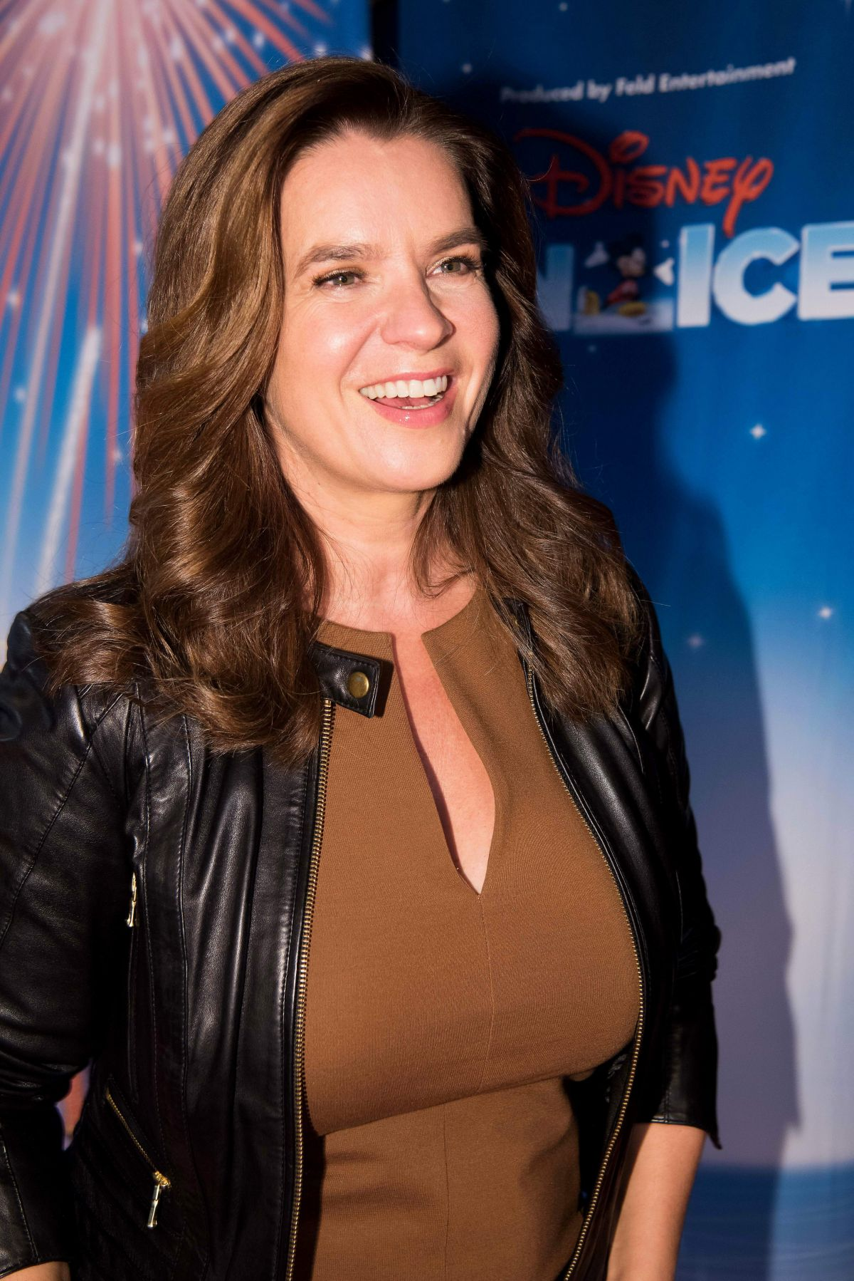 KATARINA WITT at Disney on Ice Premiere at Lanxess Arena in Cologne 11/04/2016