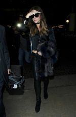 KATE BECKINSALE at Los Angeles Intenational Airport 11/23/2016