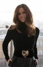 KATE BECKINSALE at Underworld Photocall in Moscow 11/21/2016