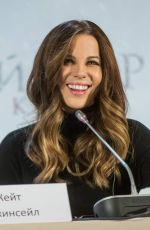 KATE BECKINSALE at Underworld Press Conference in Moscow 11/21/2016