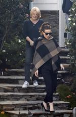 KATE BECKINSALE Leaves Her House in Los Angeles 11/27/0016