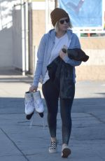 KATE MARA Arrives at Iceland Skating Centre in Van Nuys 11/18/2016