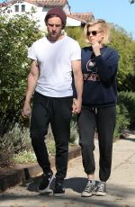 KATE MARA Out and About in West Hollywood 11/08/2016
