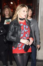 KATE MOSS at Coach Fashion Launch Store Opening in London 11/24/2016