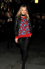 KATE MOSS at Coach Fashion Store Launch Party in London 11/25/2016