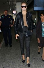 KATE UPTON at Los Angeles International Airport 11/06/2016