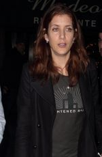 KATE WALSH at Madeo Restaurant in West Hollywood 11/23/2016