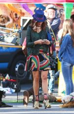 KATE WALSH Out in Los Angeles 10/31/2016