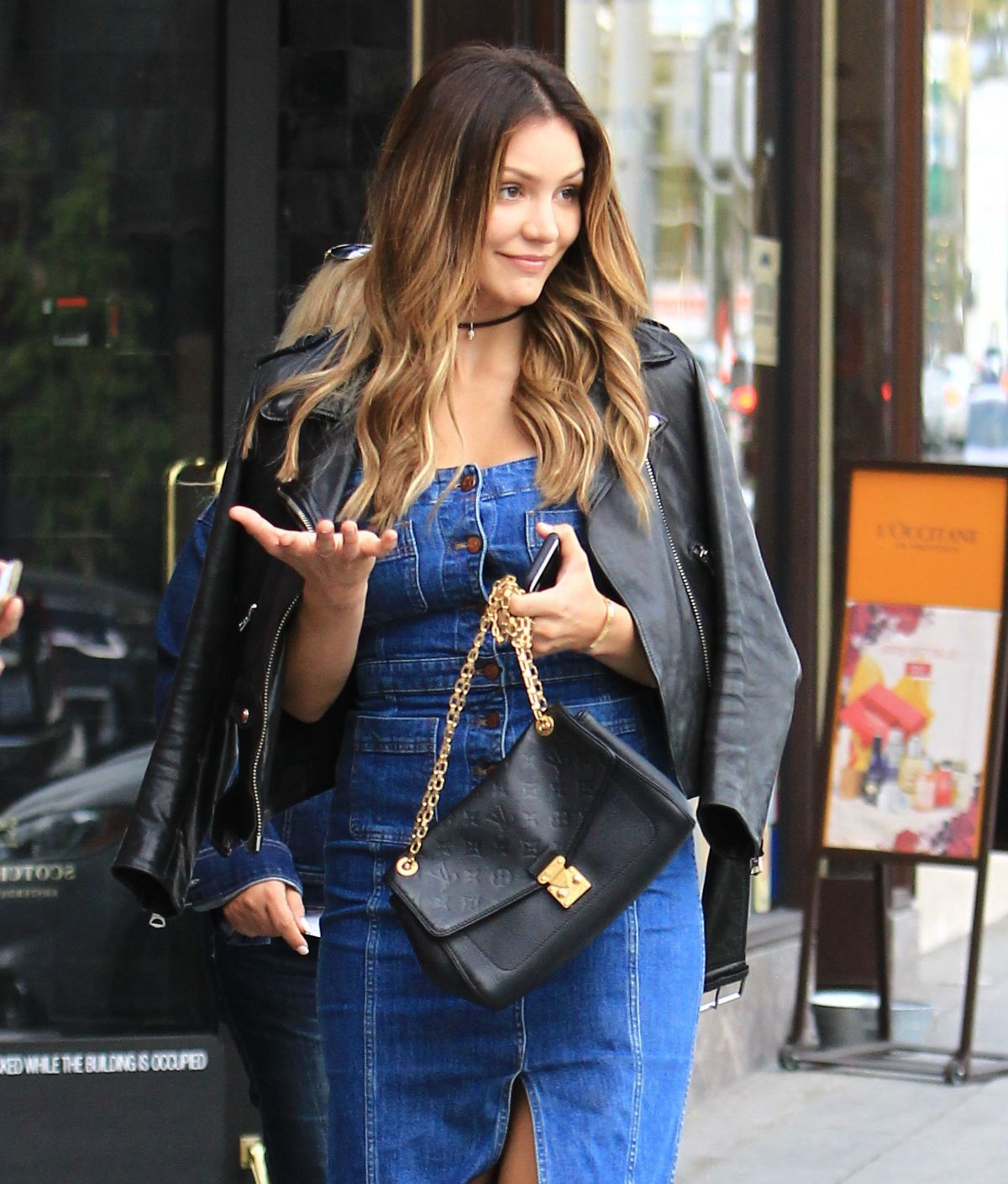 KATHARINE MCPHEE Out and About in Beverly Hills 11/15/2016