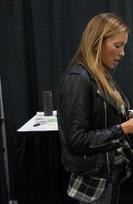 KATIE CASSIDY at Heroes and Villains Fan Fest in Atlanta 11/20/2016