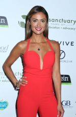 KATIE CLEARY at Farm Sanctuary 30th Anniversary Gala in Beverly Hills 11/12/2016