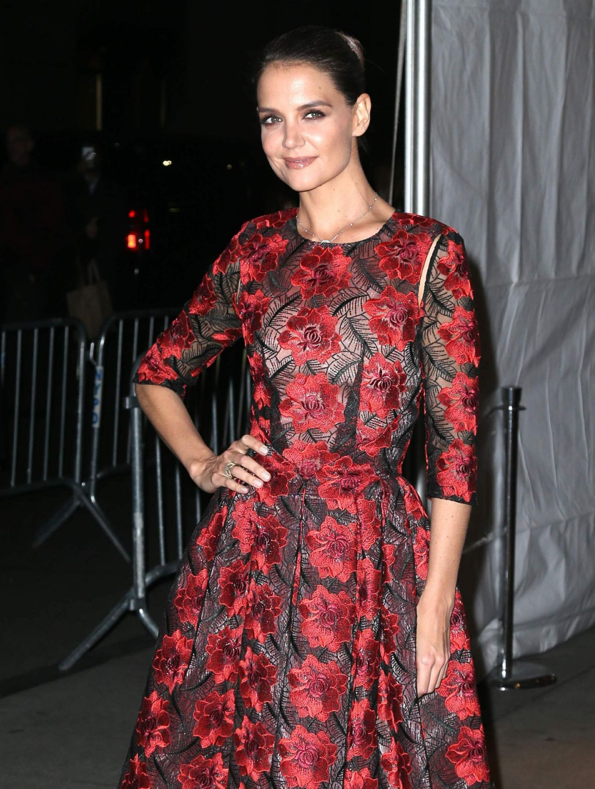 KATIE HOLMES at 2016 IFP Gotham Independent Film Awards in New York 11/28/2016