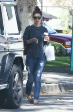 KATIE HOLMES Out in Los Angeles 11/05/2016