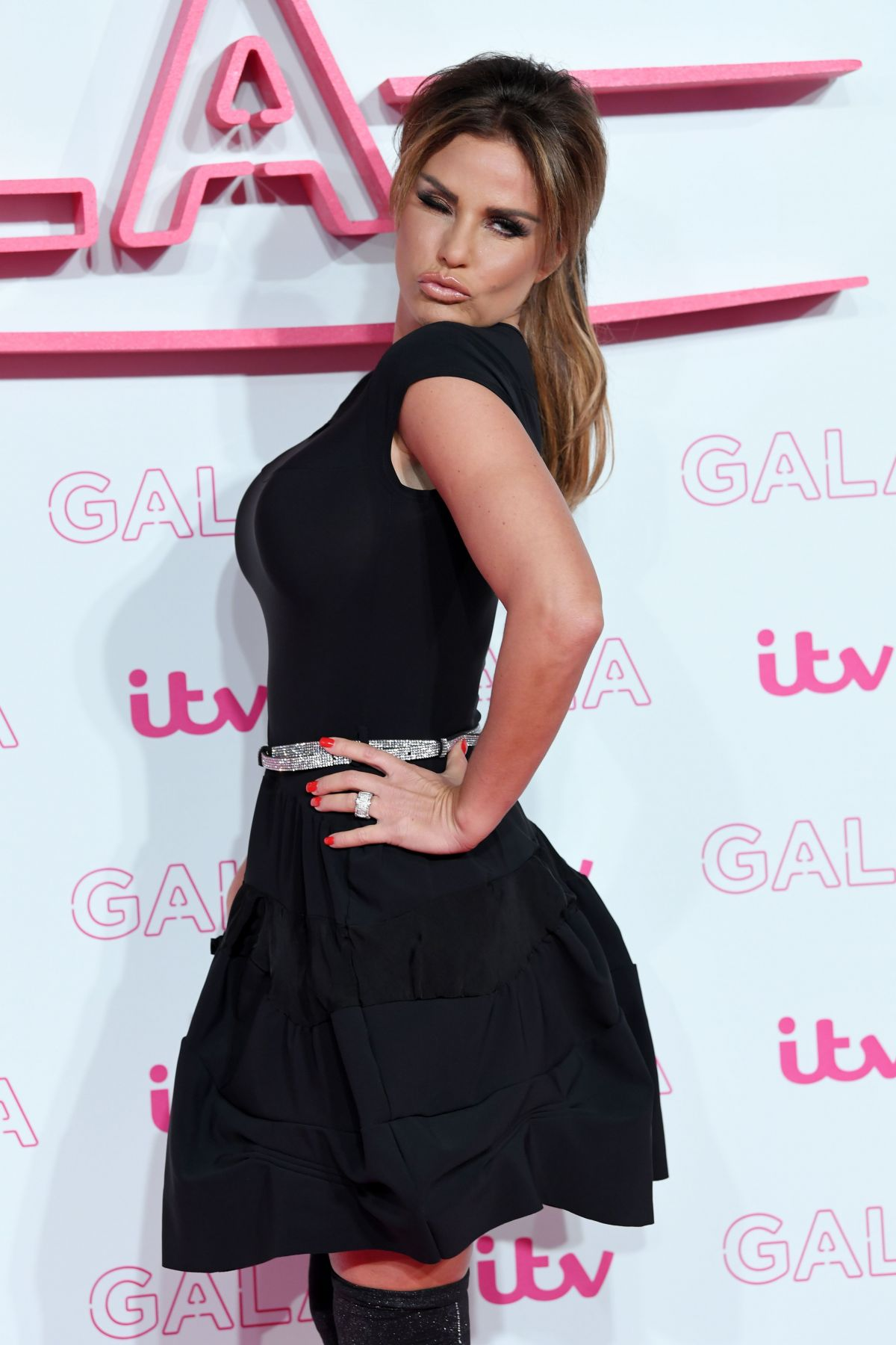 KATIE PRICE at ITV Gala in London 11/24/2016