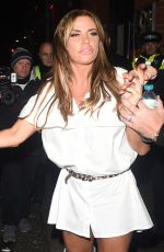 KATIE PRICE at Pure Nightclub in Bexleyheath 11/27/2016