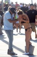 KATIE WAISSEL in Bikini Out in Venice Beach 11/23/2016