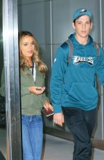KELEIGH SPERRY at JFK Airport in New York 11/13/2016