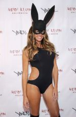 KELLY BENSIMON at Heidi Klum's 17th Annual Halloween Bash in New York 10/31/2016