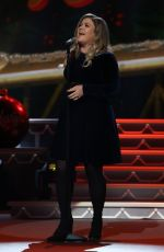 KELLY CLARKSON Performs at CMA 2016 Country Christmas in Nashville 11/08/2016
