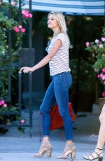 KELLY ROHRBACH Leaves Ivy Restaurant in Beverly Hills 11/12/2016