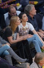 KENDALL JENNER and KARLIE KLOSS at Houston Rockets vs LA Lakers Game in Los Angeles 10/26/2016