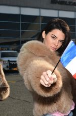KENDALL JENNER - Angels Depart for Paris for 2016 Victoria