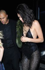 KENDALL JENNER at Birthday Party at Catch LA in West Hollywood 11/02/2016