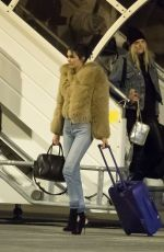 KENDALL JENNER at CDG Airport in Paris 11/27/2016